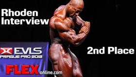 Rhoden Finals Interview at 2012 Prague Pro Championships thumbnail