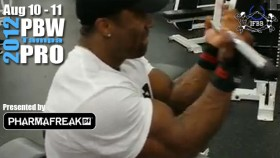 Shawn Rhoden Tears Into am Arm Workout thumbnail