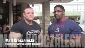 Larry Brown Interviews Matt Kroczaleski the 2012 NPC Jr. Nationals thumbnail