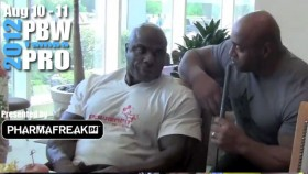Toney Freeman talks with Dennis James after PBW Prejudging thumbnail