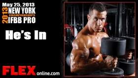 Antoine Vaillant Intense Workout for New York Pro thumbnail