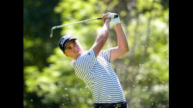 Justin Thomas of the United States plays a tee shot on the seventh hole during the second round of the World Golf Championships-Mexico Championship at Club de Golf Chapultepec on March 3, 2017 in Mexico City, Mexico.  thumbnail