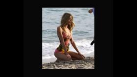 Martha Hunt smolders during a Miami swimsuit photo shoot  thumbnail