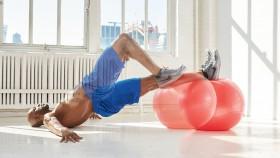 Swiss Ball Leg Curl thumbnail