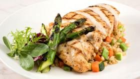 Chicken Asparagus Rice Dinner thumbnail