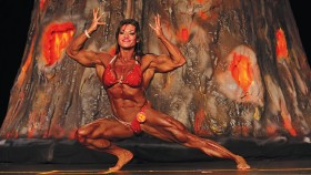 Bodybuilder Helle Trevino Gets Her Wings thumbnail