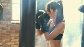 Woman Boxing Workout thumbnail