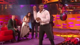 Anthony Joshua Delivers Right Hand On Gram Norton Show  thumbnail