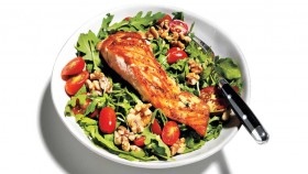 Arugula Salad With Salmon thumbnail