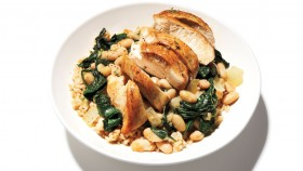 Chicken With Beans and Greens thumbnail