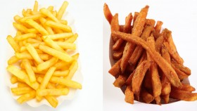 Regular Fries Vs. Sweet Potato Fries thumbnail