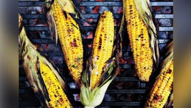 Grilled Corn With Honey-Basil Butter thumbnail
