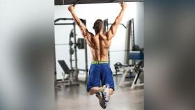 Man performing pullup thumbnail