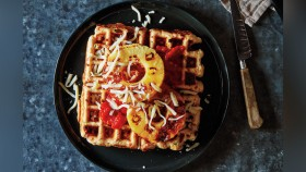 Hawaiian Pizza Waffles thumbnail