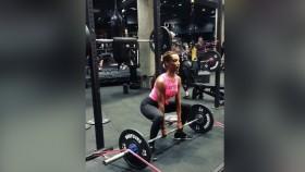 Jasmine Tookes Sumo Deadlift thumbnail