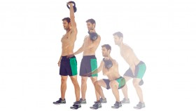 Kettlebell Clean & Press  thumbnail