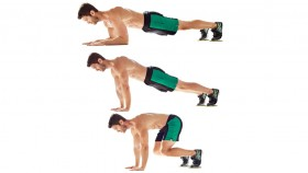 Knee-In Pushup  thumbnail