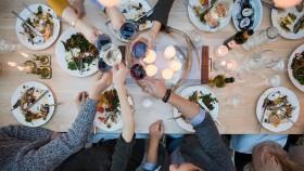 Friends Sharing Holiday Meal thumbnail