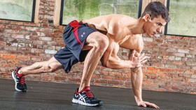 Lunge Elbow to Instep thumbnail