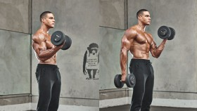 Standing Bicep Curl  thumbnail