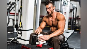 Man Mixing Protein thumbnail