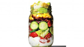Mason Jar Cobb Salad  thumbnail