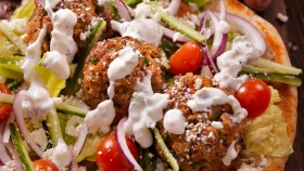 Meatballs With Greek Goddess Dressing thumbnail