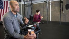 Man At Gym Eating  thumbnail