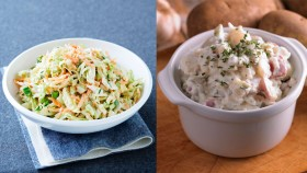 Which Is Healthier: Cole Slaw Vs. Potato Salad thumbnail