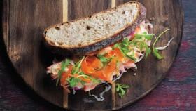 Salmon Beet Sandwich thumbnail