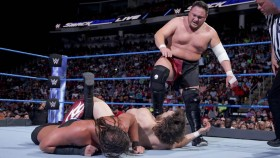 Samoa Joe vs. Big Cass vs. Daniel Bryan on WWE SmackDown 29 May 2018 thumbnail