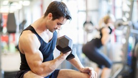 Seated Bicep Curl  thumbnail