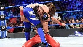 Shinsuke Nakamura and AJ Styles on 'Smackdown Live' on April 24, 2018 thumbnail