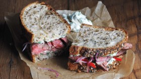 Recipe: How To Make Steak Chimichurri Sandwich  thumbnail