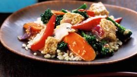 Stir-Fried Tempeh With Orange Sauce  thumbnail