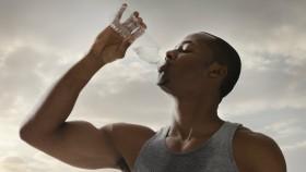 Man Drinking Bottled Water thumbnail