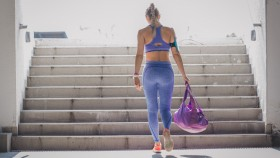 Woman Carrying a Gym Bag thumbnail