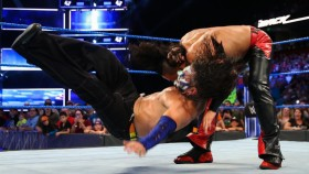 'Smackdown' Recap: Shinsuke Nakamura Attacks Jeff Hardy, Samoa Joe Taunts AJ Styles thumbnail