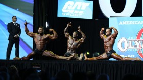 Final Posedown & Awards - Classic Physique - 2018 Olympia thumbnail