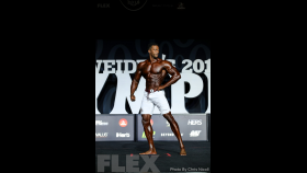 Raymont Edmonds - Men's Physique - 2018 Olympia thumbnail