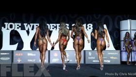 Comparisons - Bikini - 2018 Olympia thumbnail