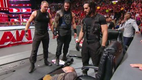 WWE 'Raw' Recap: 'The Shield' Reunite to Stop Braun Strowman's 'Money in the Bank' Cash-in thumbnail