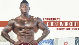 Build Strength and Better Muscles with Kyron Holden's Chest Workout Video Thumbnail