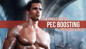Arnold-Schwarzenegger-Video-Bodybuilder-Chest-Workout-Exercise-Hypertrophy-Muscles Video Thumbnail