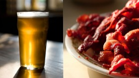 Cutting beer and bacon consumption can reduce risk of cancer thumbnail
