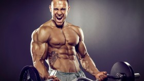 BodyBuilder-Barbell-Curl-Screaming thumbnail