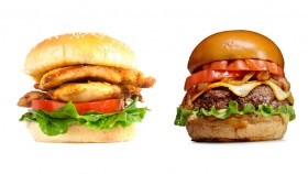 Chicken Sandwich vs Hamburger thumbnail