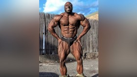 George Peterson is in the Shape of His Life 4 Weeks Out from the Olympia. thumbnail