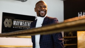 Floyd Mayweather at the Mayweather Boxing + Fitness in Los Angeles. thumbnail