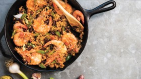 Creole Gumbo with Red Beans and Rice thumbnail